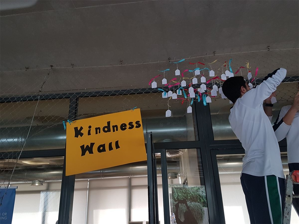"""Kindness Wall"" @SABIS®-Adma!"